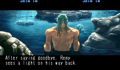 Ending for Street Fighter III 3rd Strike-Remy(Arcade)