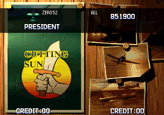 Ending for Strikers 1945 Plus-2nd Run Zero Fighter(Arcade)