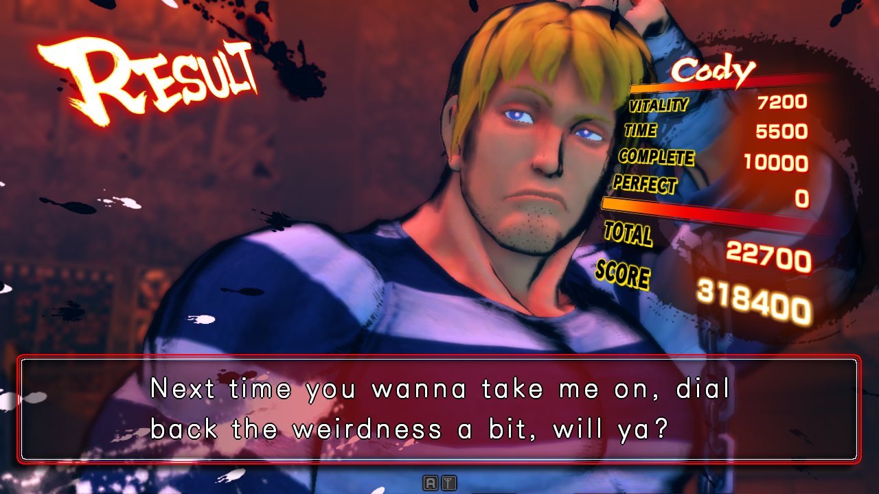 Ending For Super Street Fighter Iv Arcade Edition Cody Arcade