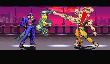ending for jojo s bizarre adventure jotaro arcade