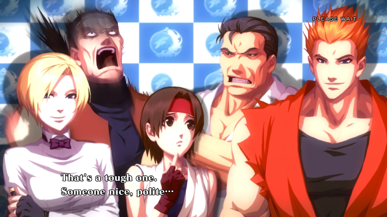 Ending For King Of Fighters Xiii Art Of Fighting Team Arcade