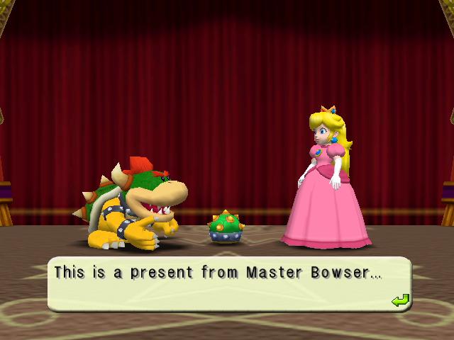 Ending For Mario Party 4 Peach Nintendo Gamecube