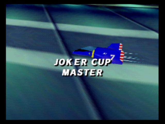 Ending for F-Zero X (Nintendo 64)
