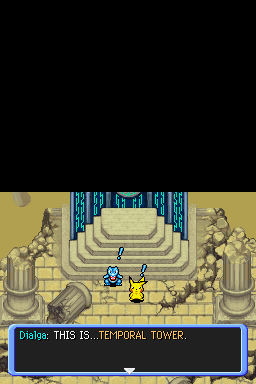 Ending For Pokemon Mystery Dungeon Explorers Of Darkness First End