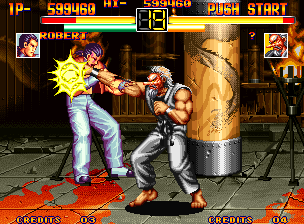 Ending For Art Of Fighting Neo Geo