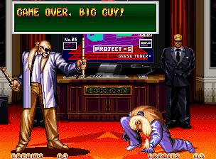 Ending For Art Of Fighting 2 Mr Big Reach Geese Neo Geo