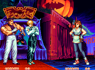Ending For Art Of Fighting 2 Mr Big Don T Reach Geese Neo Geo