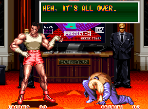 Ending For Art Of Fighting 2 Mickey Neo Geo