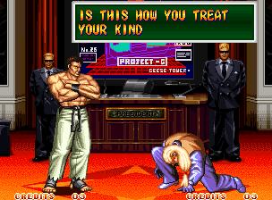 Ending For Art Of Fighting 2 Takuma Neo Geo