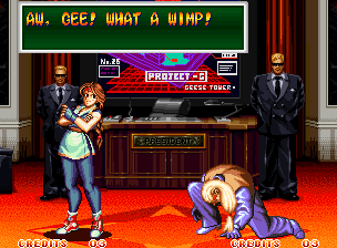 Ending For Art Of Fighting 2 Yuri Neo Geo