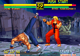 art of fighting 2 stages