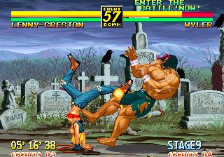 Ending For Art Of Fighting 3 Lenny Neo Geo