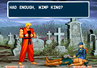 Ending For Art Of Fighting 3 Ryo Neo Geo
