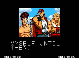 ending for king of fighters '94 team italy(neo geo)