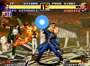 Ending For King Of Fighters 96 Hero Team Neo Geo