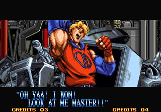 Ending For Double Dragon Billy Neo Geo