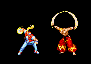 ending for real bout fatal fury terry neo geo www vgmuseum com
