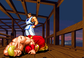 ending for real bout fatal fury kim neo geo www vgmuseum com