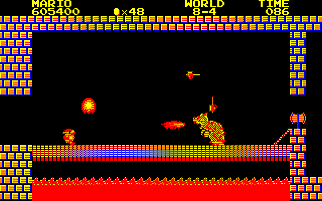 Ending for Super Mario Bros  Special(PC-8801)