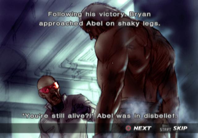 Ending For Tekken 4 Bryan Sony Playstation 2