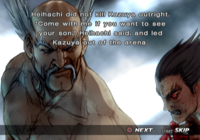 Ending For Tekken 4 Heihachi Sony Playstation 2