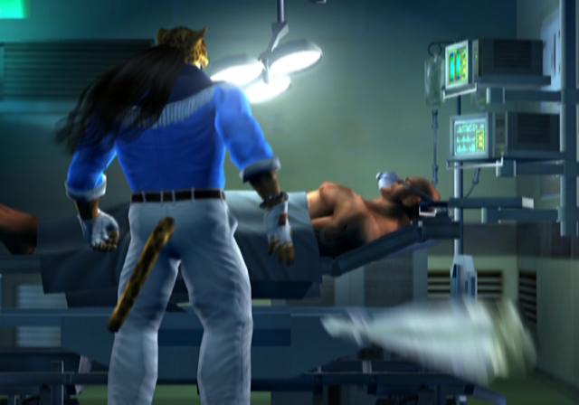Ending For Tekken 4 King Sony Playstation 2