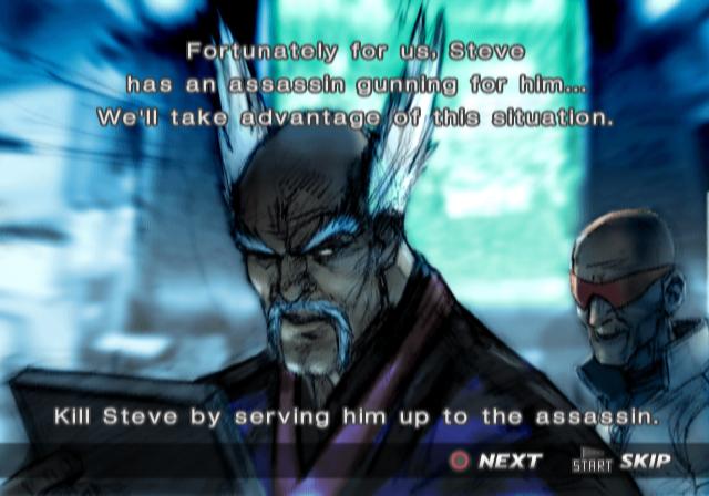 Ending For Tekken 4 Steve Sony Playstation 2