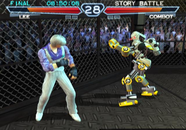 Ending For Tekken 4 Lee Violet Sony Playstation 2