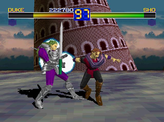 Ending For Battle Arena Toshinden Duke Sony Playstation