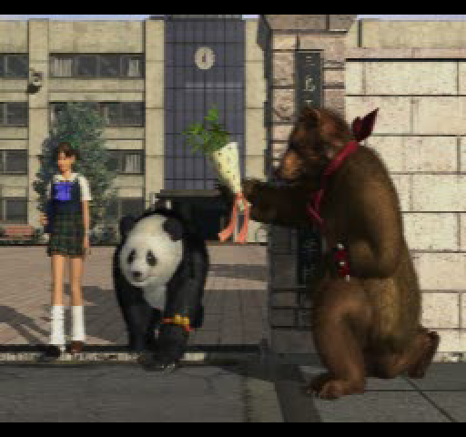 Ending For Tekken 3 Kuma Panda Sony Playstation