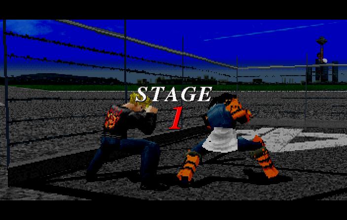 Ending for Fighters Megamix-Course A (Sega Saturn)