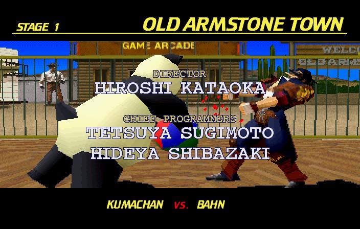 Ending for Fighting Vipers-Pandachan (Sega Saturn)