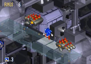 Ending for Sonic 3D Blast-Good End (Sega Saturn)