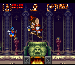 Ending for Mickey To Donald: Magical Quest 3(Super Nes