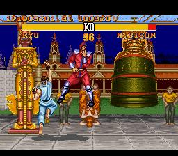 Ending For Street Fighter Ii Turbo Ryu Super Nes