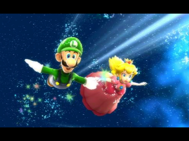 ending for super mario galaxy