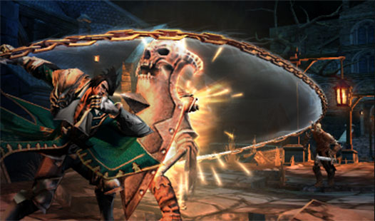 castlevania lords of shadow how to start a new game