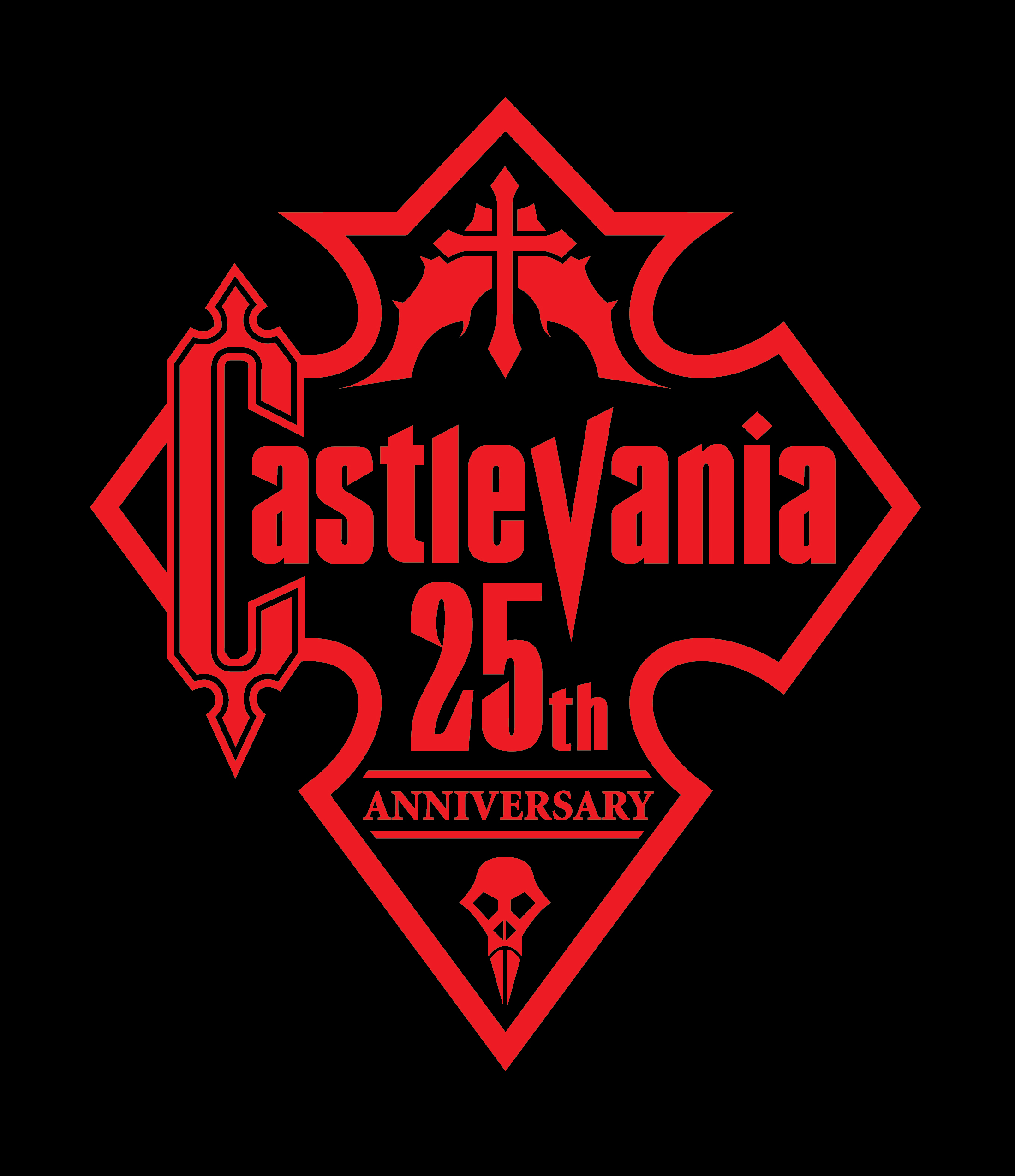 Celebrating The Anniversary Of Its Enduring Series Castlevania Fan Ron Supplies His Own Commemorative Logo In Hope That Company Will Take Notice