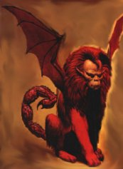 Greek Mythology Manticore Images & Pictures - Becuo