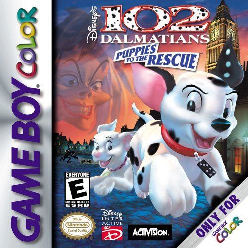 102 Dalmatians - Puppies to the Rescue (Front)