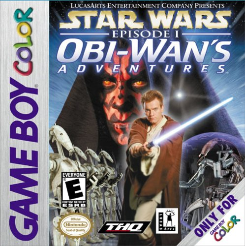 Обложка игры star wars episode i obi wan s adventures