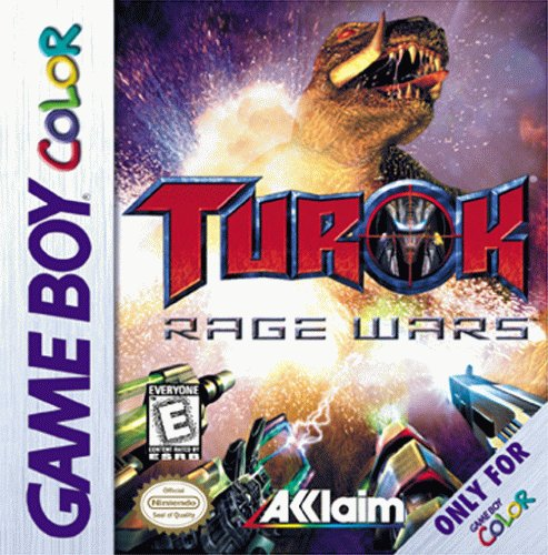 Turok Rage Wars Game Boy