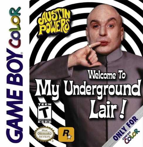 Austin Powers - Welcome to my Underground Lair! (Front)