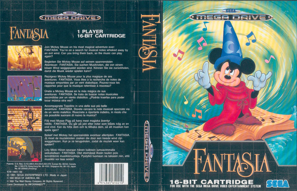 Fantasia (Set) (Cart) (Manual)