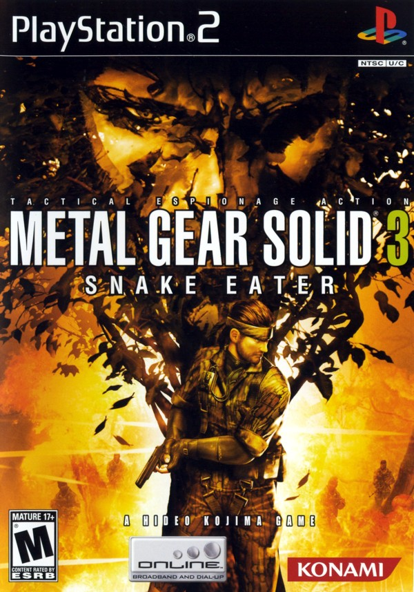 Metal Gear 3: SNAKE EATER [ps2][MU]