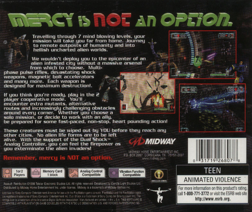 The video game museum playstation one scans azure dreams ntsc back inside azure dreams pal front publicscrutiny Image collections