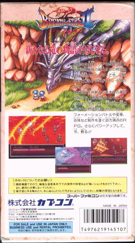 breath of fire 2 pro action replay codes