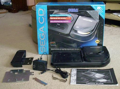 Sega Cd System Info